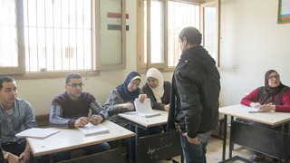 An Egyptian voter at a polling station in Egypt's Presidential elections | by Kodak Agfa