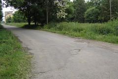 Kisvasúti átjáró nyoma, Belsőperegpuszta