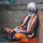 colorful sadhu