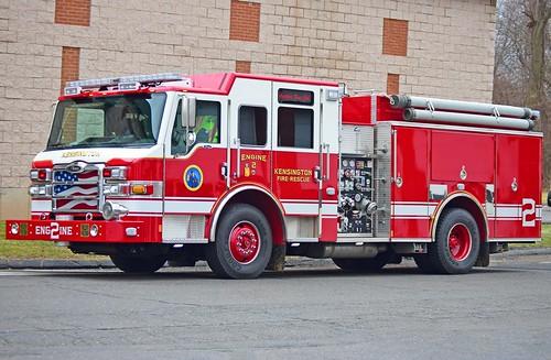 ct berlin pierce engine firetruck