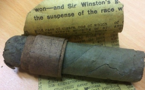 cigar winston churchill