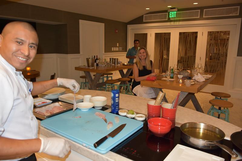 03-27-18  Photos Ritz Cooking Studio Lionfish  22
