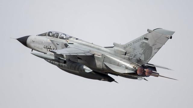 German Air Force Panavia Tornado ECR - 46+54
