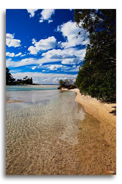 Coastal Beach Inlet
