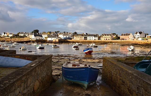 Portsall / Bretagne / Finistère / Low tide