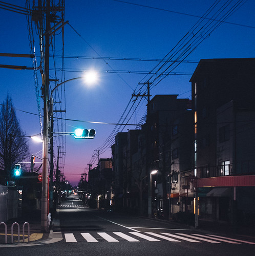 japan street asia night day dark sunrise blue red pink sky cloud house urban city kobe explore light quiet walk winter cold road travel traffic place landscape local lonely life japanese haze home fujifilm fuji dreamy dream streetlife shadow asian alone art architecture x70 contrast vintage beautiful beauty