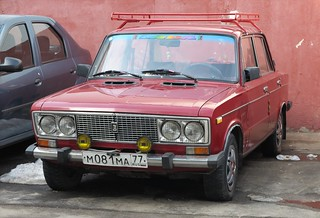 VAZ-2106 in Moscow
