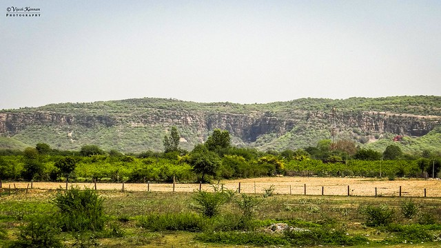 The Ranthambore hills of Aravali Ranges !
