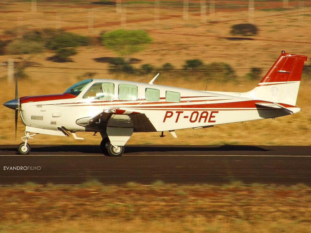 PT-OAE - Beechcraft Bonanza A36TC | Local: Ituiutaba - Aeroc
