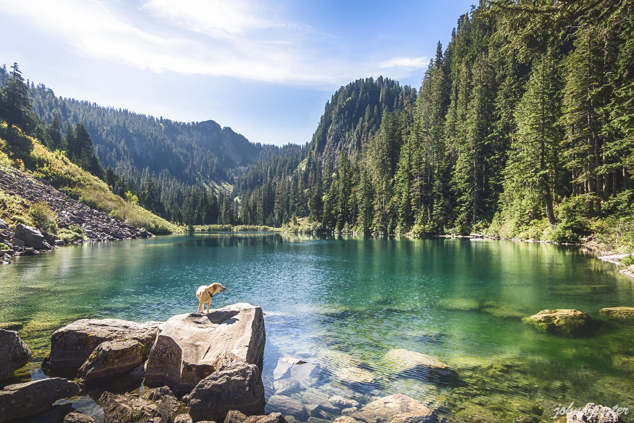Coal Lake below Beaver Peak