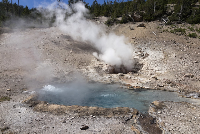 Beryl Spring, Yellowstone National Park, Park County, Wyoming