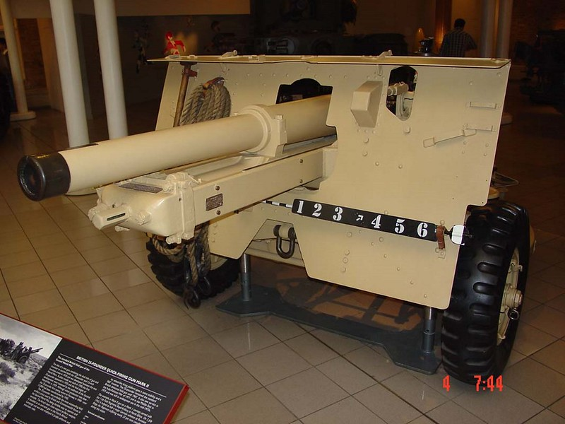 QF 25pdr Mark II Field Gun 1