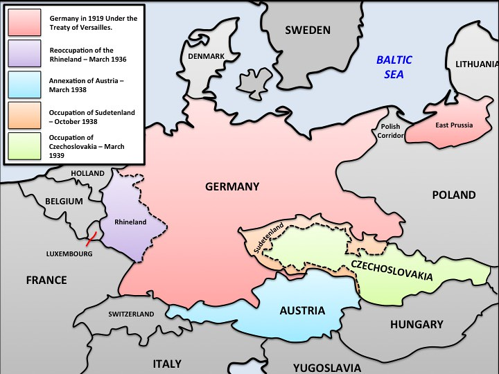 Map Of Germany Ww2.Ww2 Expansion Of Germany Map Patrick Gray Flickr