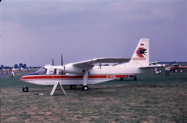 D-IAWD Britten Norman Islander of Aerowest