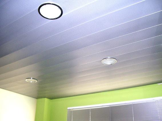techo de lamas de aluminio