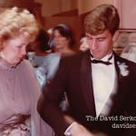 David with mom Shirley's wedding