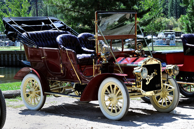 Brass and Class 1906 Buick Model F Touring