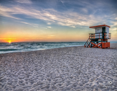 ocean voyage morning vacation sun beach water station sunrise relax photography ellen high florida cloudy miami empty picture wave enjoy flare lonely fl fla range hdr yeates ellenyeates dymatic shipsunflare