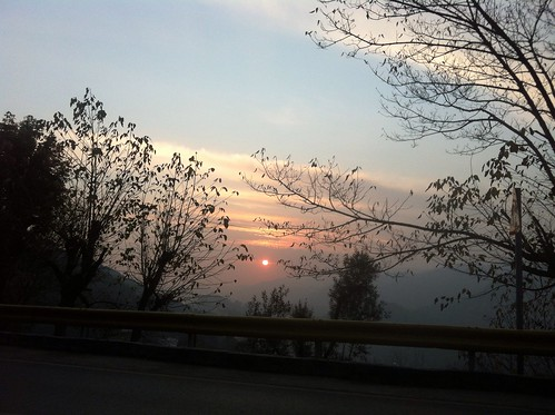 sunset evening murree