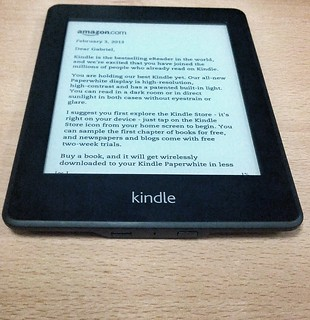 Got a Kindle Paperwhite | by gabrielsaldana
