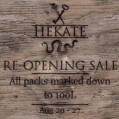 Hekate Re-Opening Sale