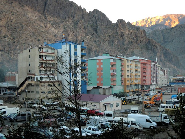 Yusufeli, the biggest town to be flooded by the Çoruh River Project by bryandkeith on flickr