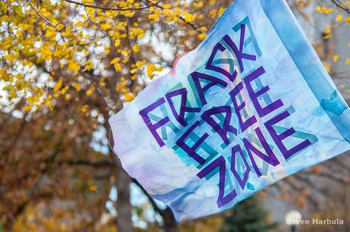 Frack Free Zone | by SteveHarbula