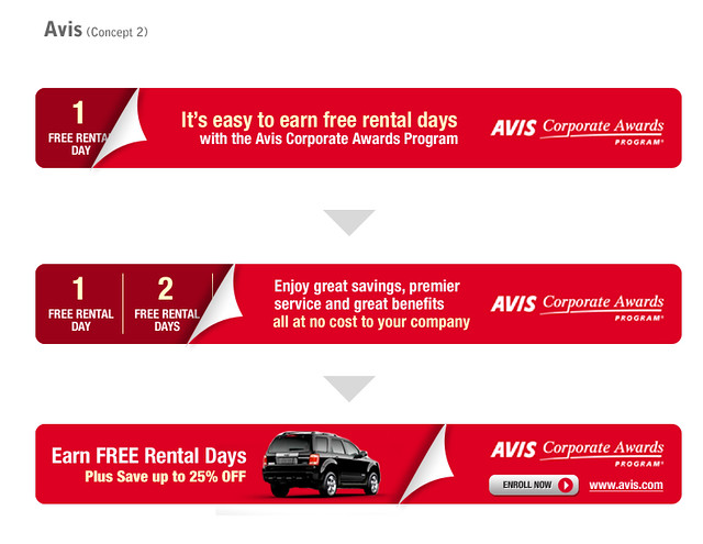 Avis Car Rental Banner Ad 1 Banner For Avis Car Rental Com Flickr