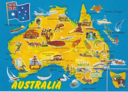 Australia Map Landmarks.Australia Map With Landmarks 2 Kathrynm87 Flickr