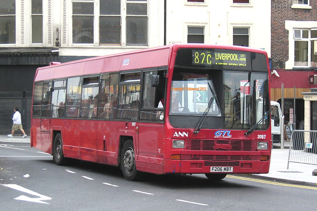 Stagecoach Merseyside F206MBT