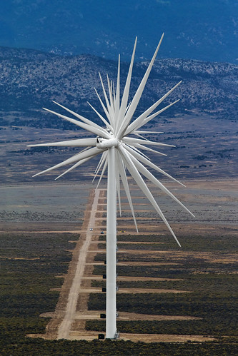 "Wind Turbines Alignment Abstract | by IronRodArt - Royce Bair (""Star Shooter"")"
