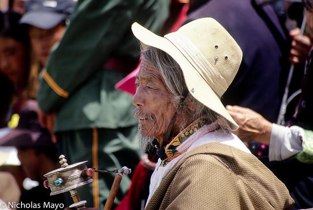Old Man At Jyekundo Festival