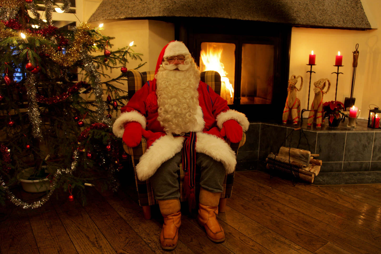 Santa Claus at Hotel Kalevala