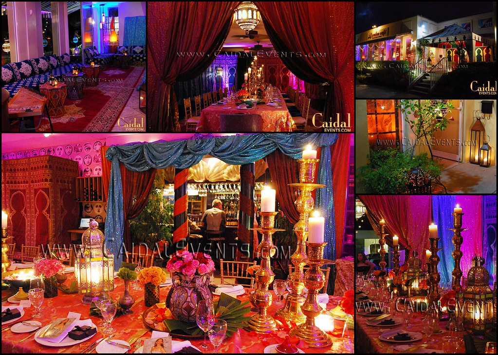 Indian Moroccan Theme Birthday Party Bamboo Naples