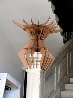 Bollard after infection - Hanger Plug-in designed by Efe Alpay