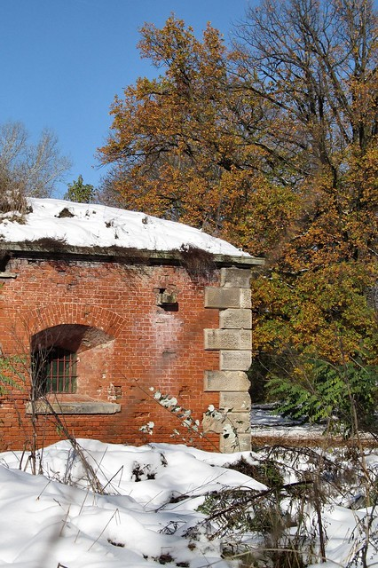 Autumn in the fortress of Modlin