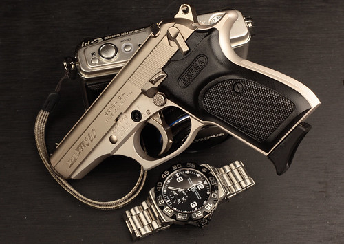Nickel Bersa Thunder  380 Handgun | MWButterfly | Flickr
