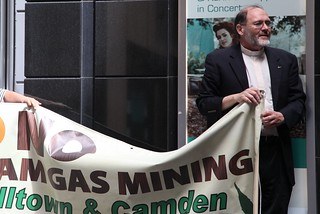 Protest at AGL AGM | by lockthegate