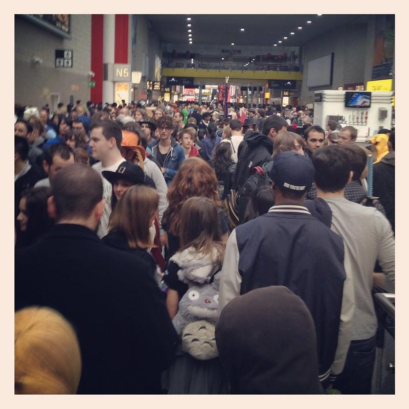 Massive crowd!