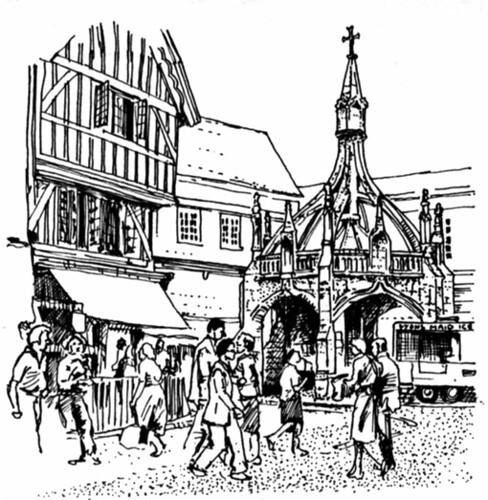 The Butter Cross, Salisbury