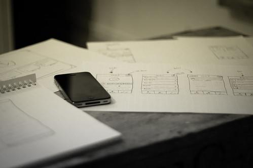 App sketching