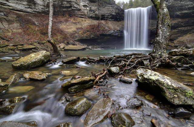 Greeter Falls, South Cumberland State Park, Grundy County, Tennessee 2