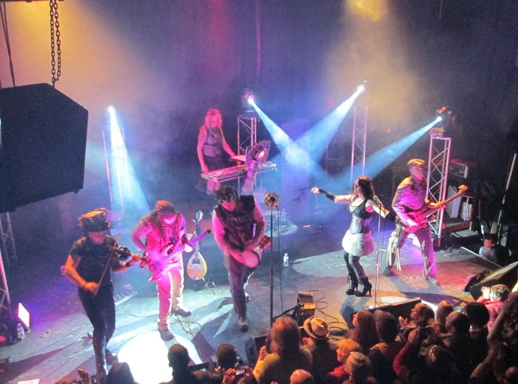 Abney Park Concert - Studio Seven