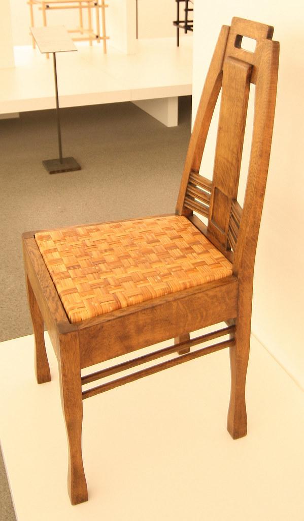 Peter Behrens 1868 1940 Stuhl Aus Einem Speisezimmer Flickr