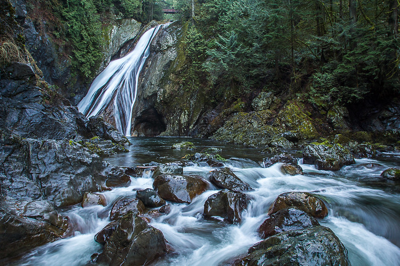 Twin Falls in Olallie State Park, North Bend Wa.