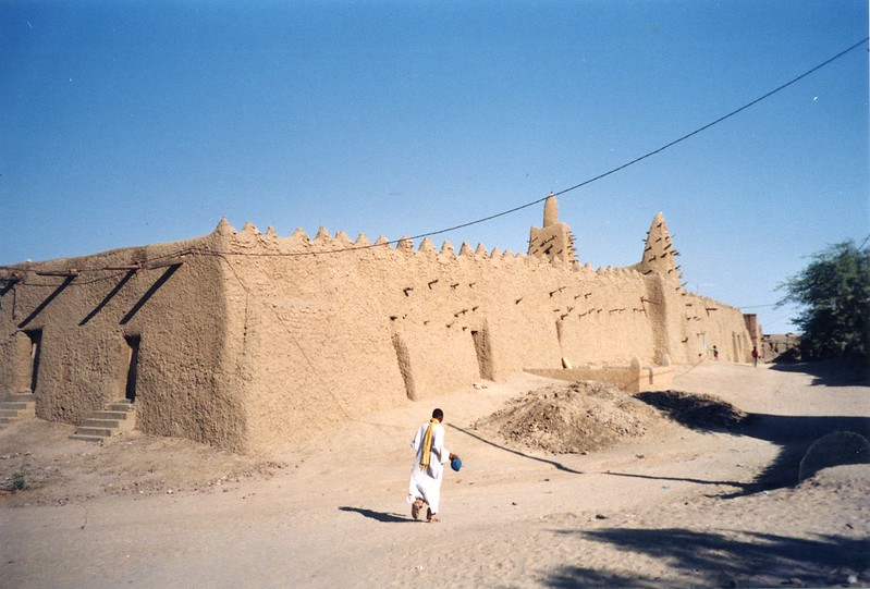 Mali - Timbuktu, the oldest of the two mosques