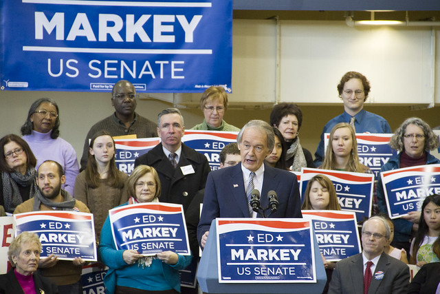 Ed Markey and his supporters