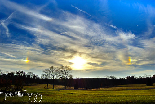 blue trees sky sun sunlight green dogs field grass clouds landscape nikon cloudy hdr sundogs d80