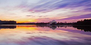 Jefferson Memorial Sunrise: Long Exposure - 2nd Edit | by Andrew Rhodes Photography