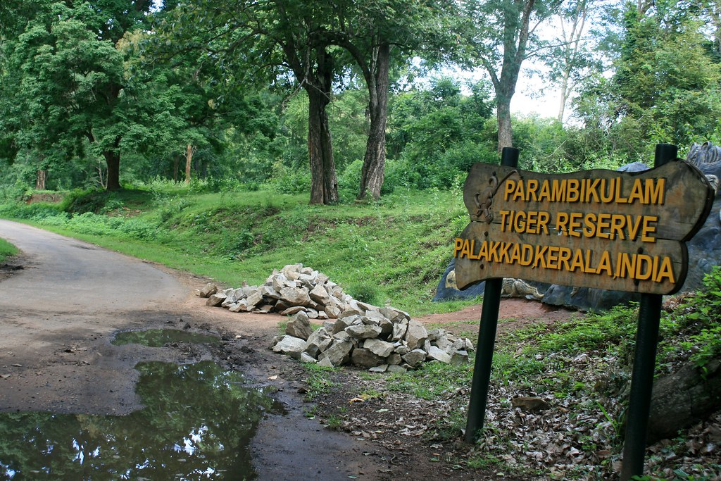 A click of Parambikulam Tiger Reserve entrance